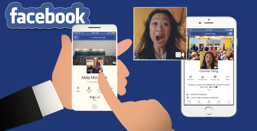 """เตรียมตัวไว้ """"เฟซบุ๊ค"""" จะให้ใช้รูปโปรไฟล์เป็นวีดีโอสั้นๆ ได้แล้ว"""